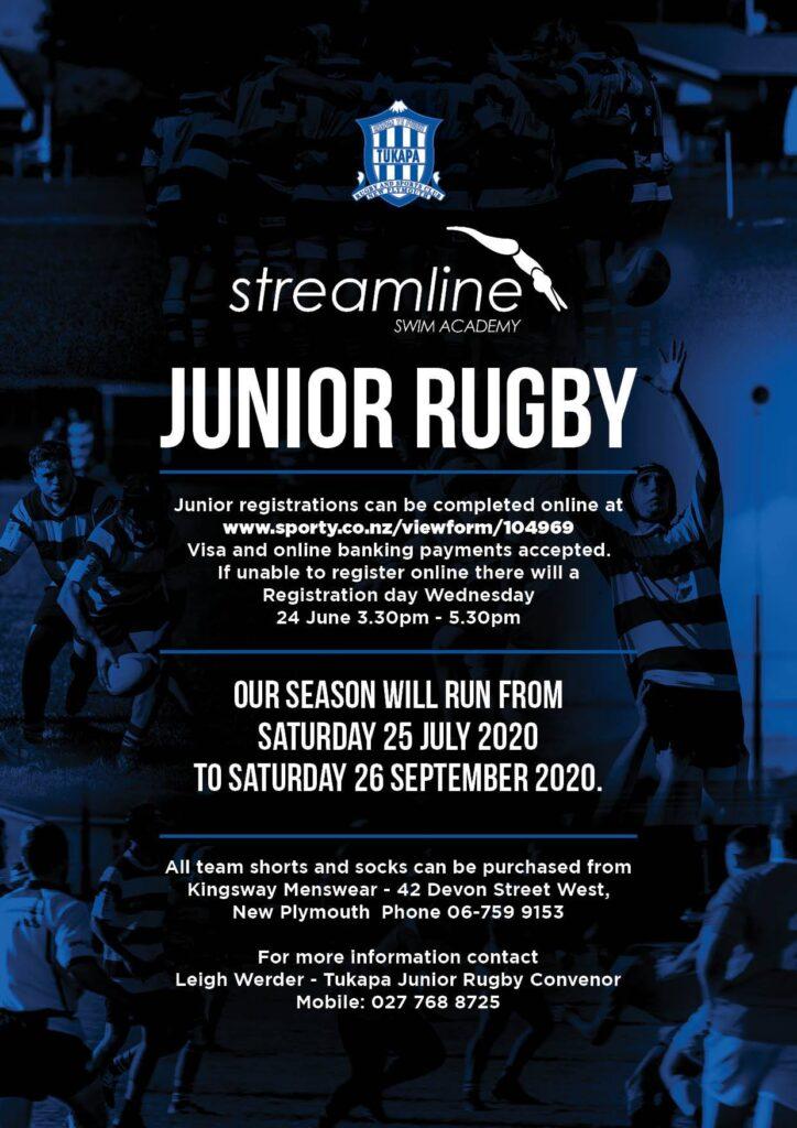 Tukapa Junior Rugby Recruitment