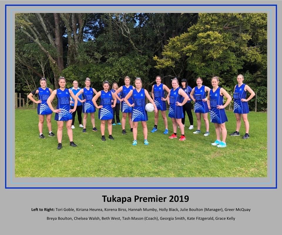 Tukapa Netball Premier 2019
